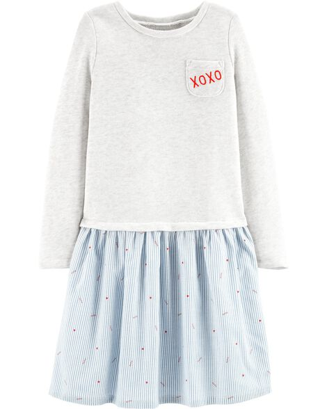 Xoxo Shirt Dress