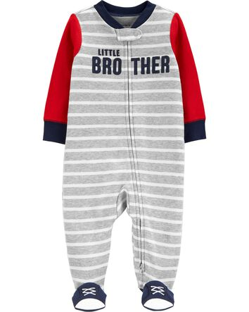 Carters Baby Boys Santa 2 Piece Sleep N Play Pajama Set