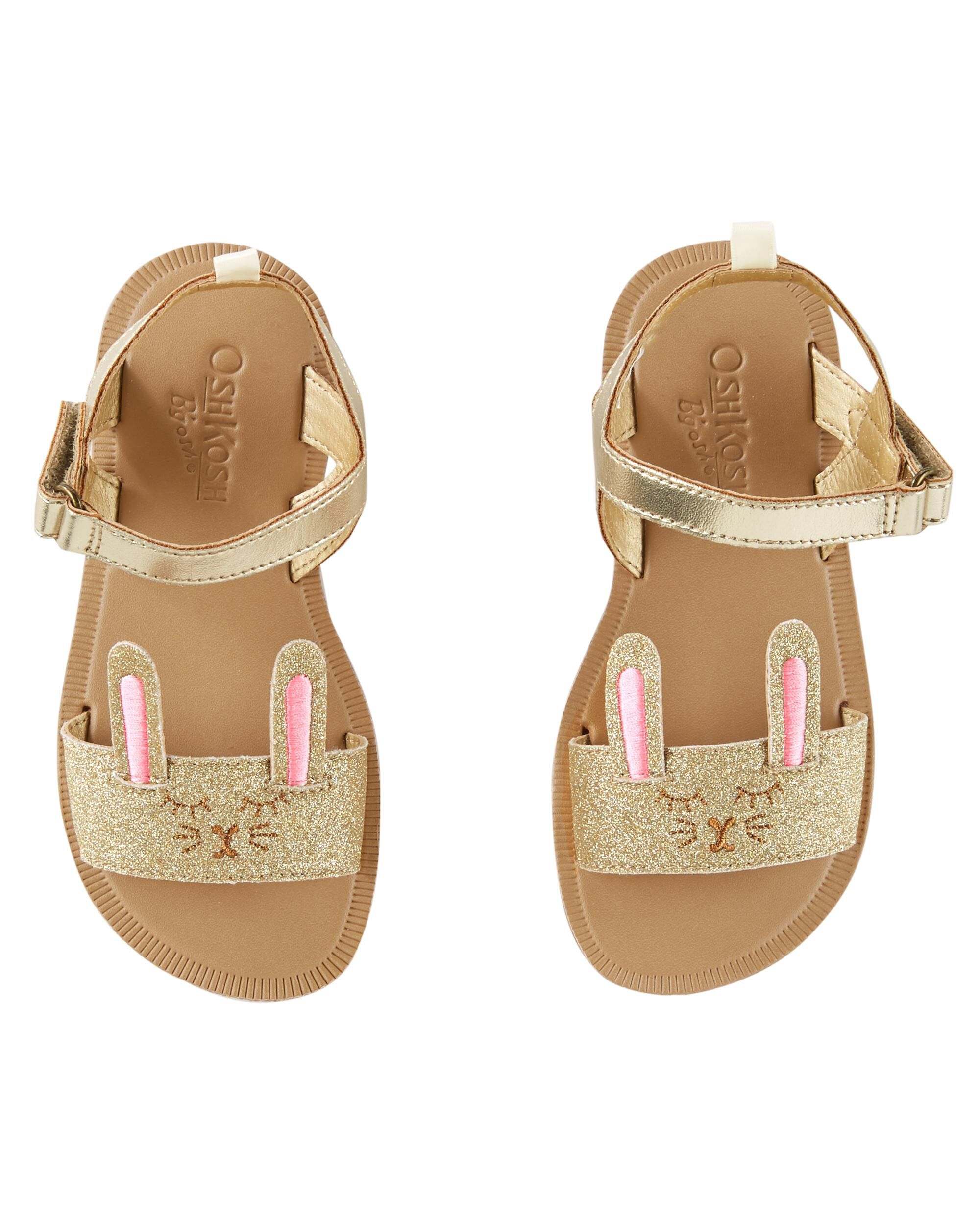 Kid Girl OshKosh Bunny Sandals