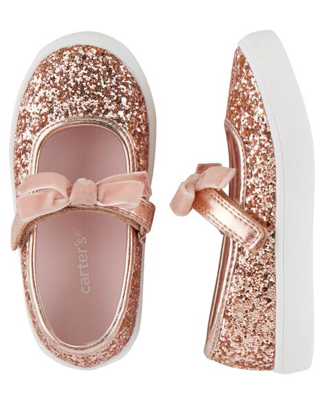 d1dd8be1115 Carter s Glitter Mary Jane Sneakers ...