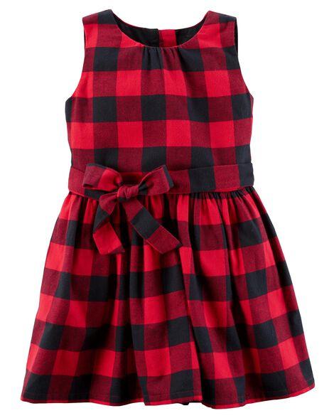 0a4ace5f253e Buffalo Check Flannel Dress