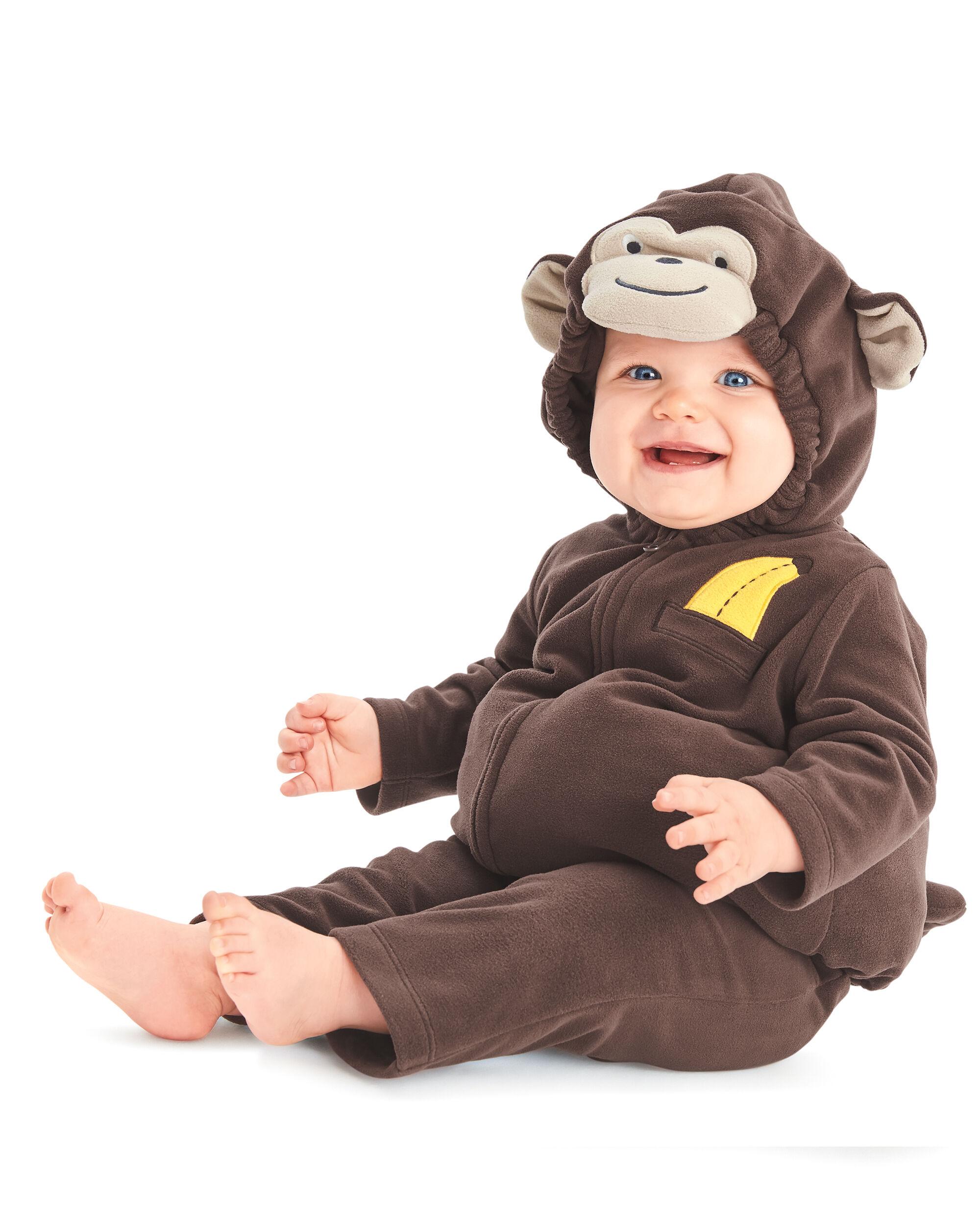 Little Monkey Halloween Costume ...  sc 1 st  Carteru0027s & Little Monkey Halloween Costume | Carters.com