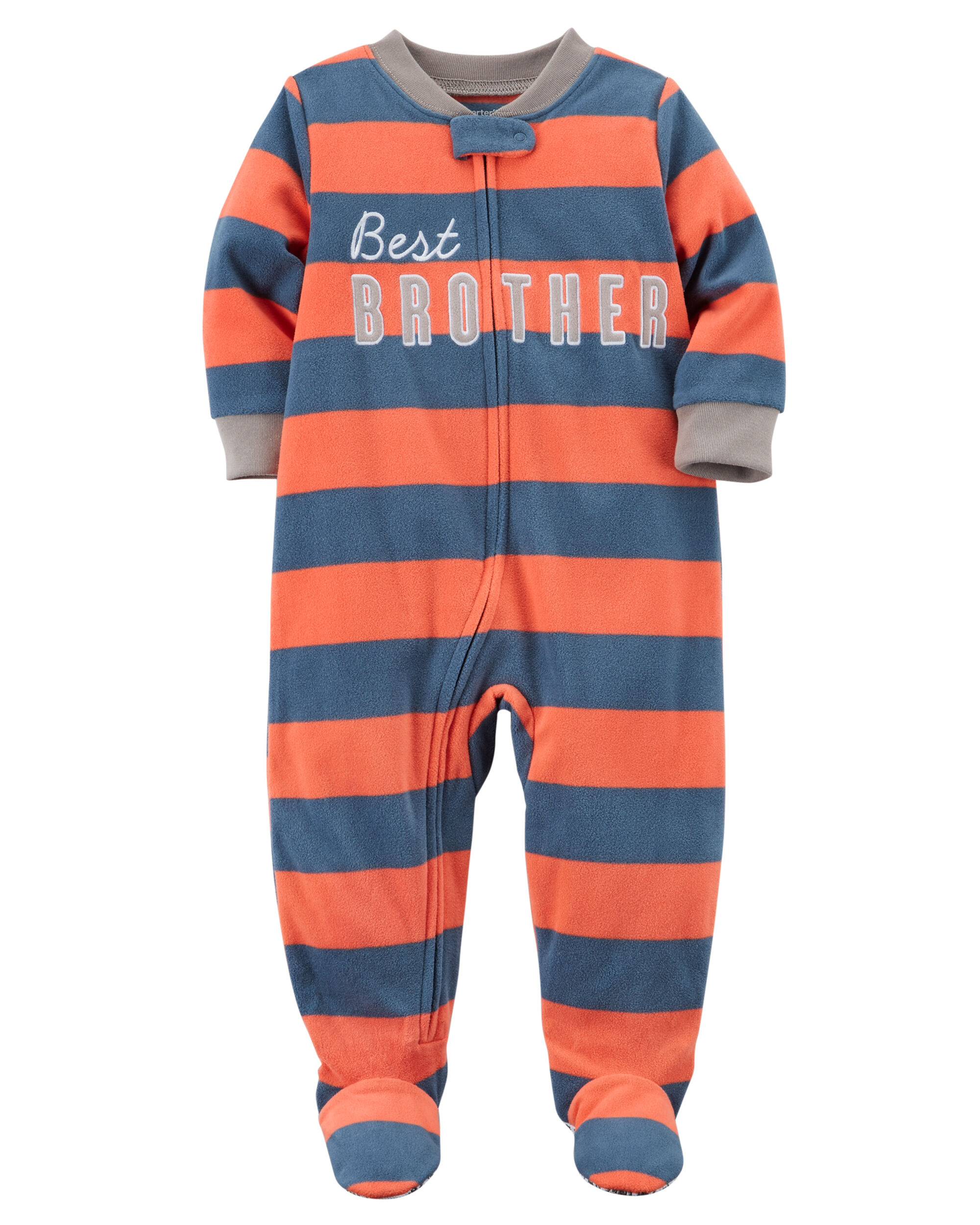 d846218ae199 1-Piece Brother Fleece PJs
