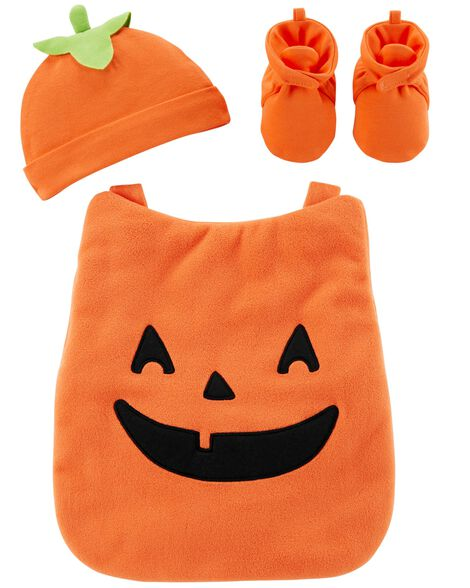 3e4f0b2a6 Little Jack-O-Lantern Halloween Carrier Costume | Carters.com