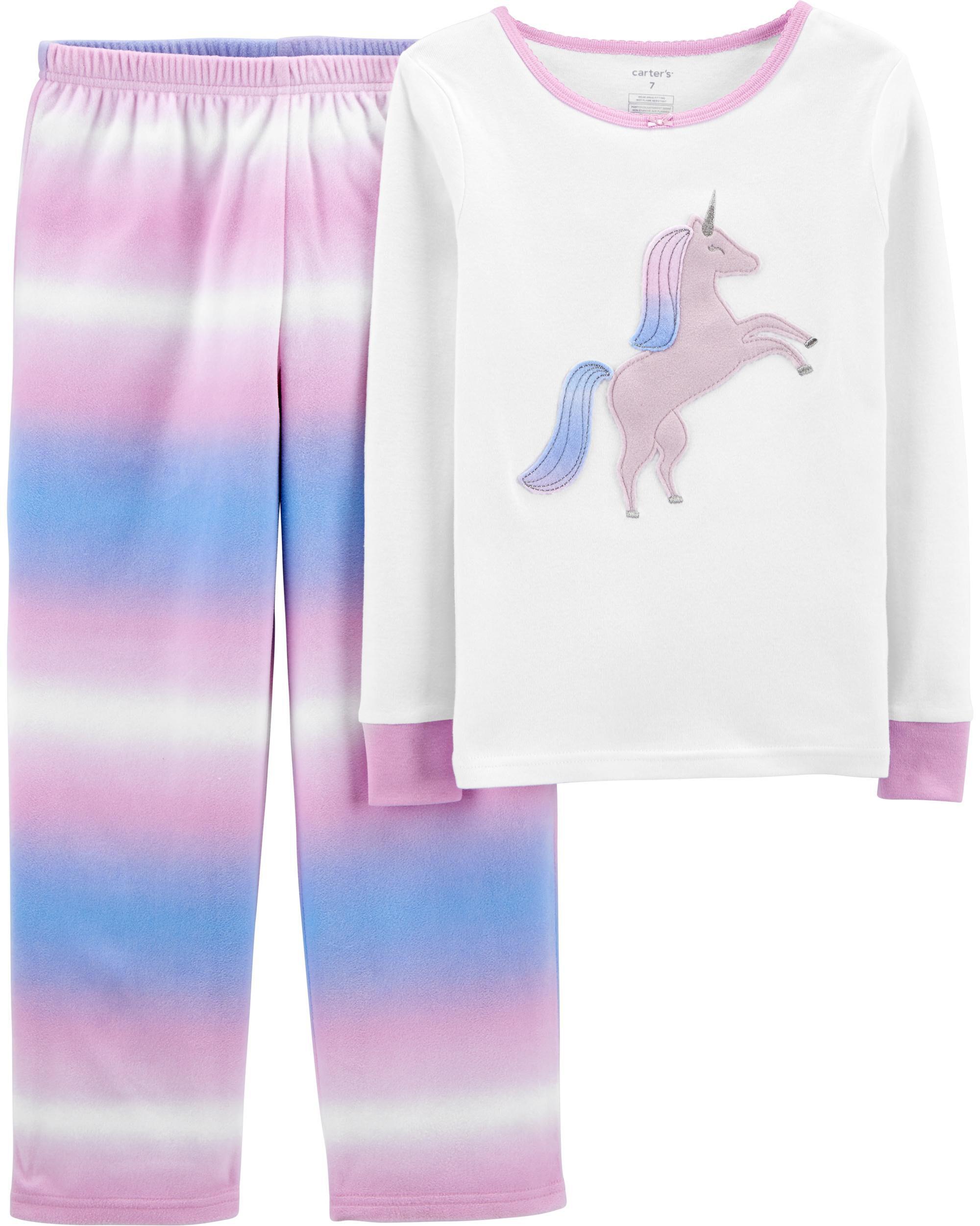 *CLEARANCE* 2-Piece Fleece & 100% Snug Fit Cotton PJs