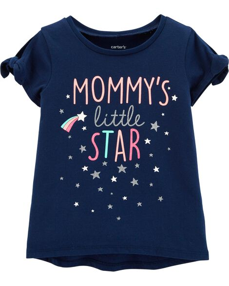 Mommy's Little Star Hi-Lo Tee