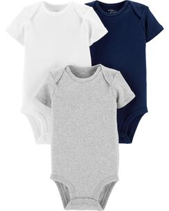 34270f4b1 Baby Boy One-Piece Bodysuits, Multi-Pack Bodysuits | Carter's | Free ...