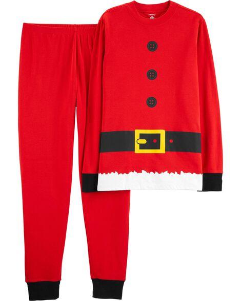 2-Piece Adult Santa Claus Cotton PJs ... 717e042a4