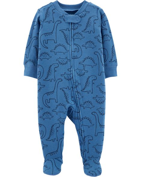 Dinosaur Zip-Up Cotton Sleep   Play  b64f304bc