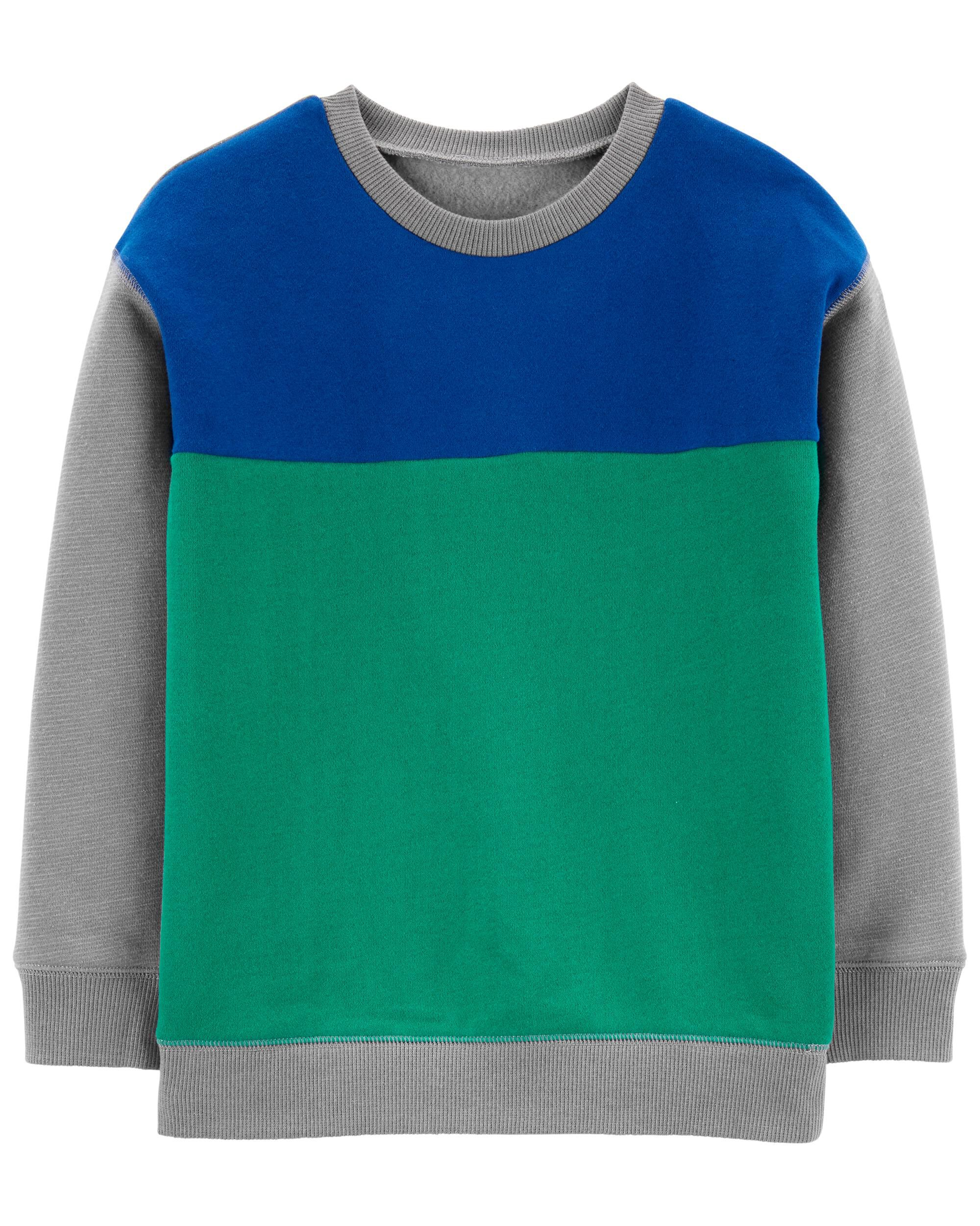 *CLEARANCE* Colorblock Cotton Sweater