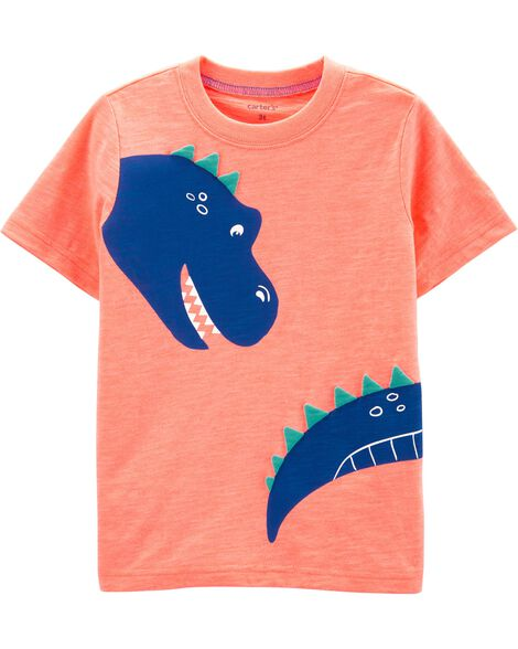 3ced8f85 Dinosaur Slub Jersey Tee   Carters.com
