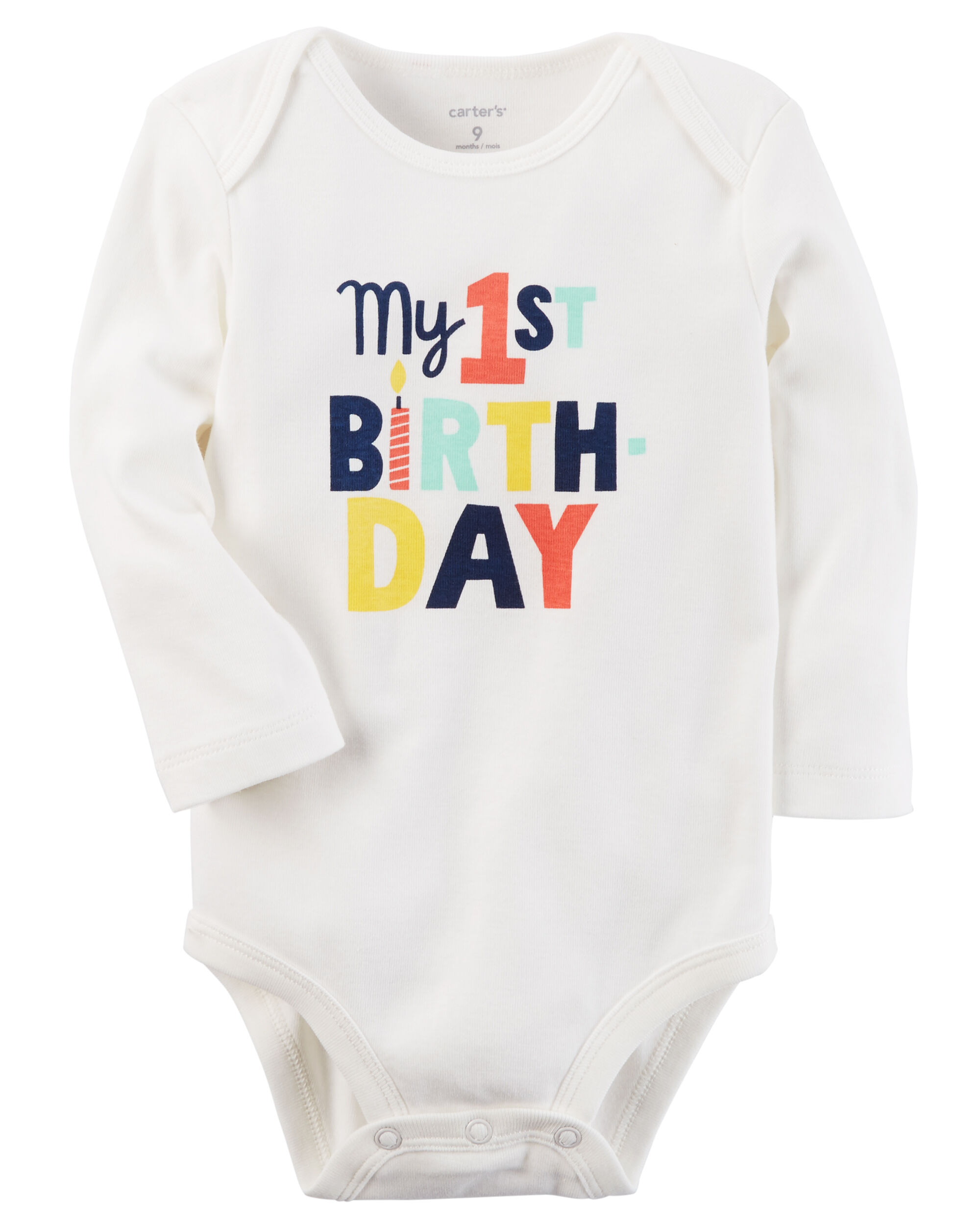Baby Boy First Birthday Outfit Carters