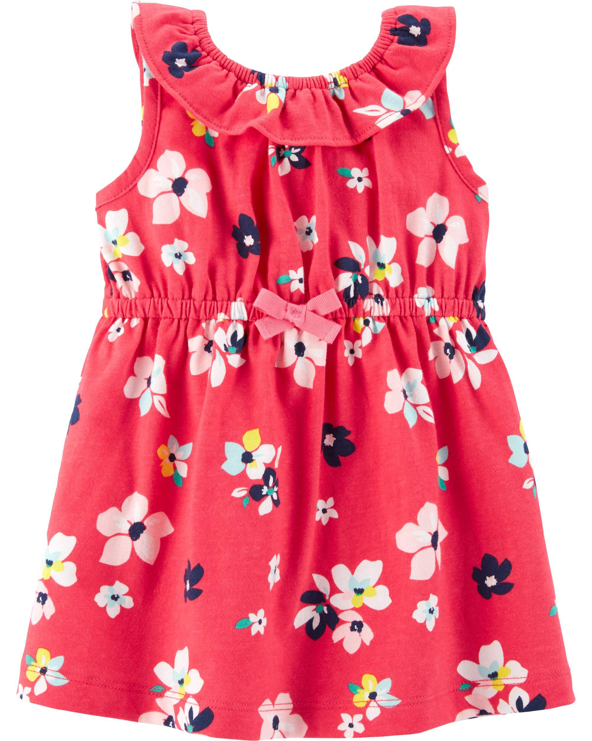 Baby Clothes, Shoes & Accessories Carter's Baby Girl Skirt 6m Tropical Skirt With Built In Pants Free P+p Big Clearance Sale