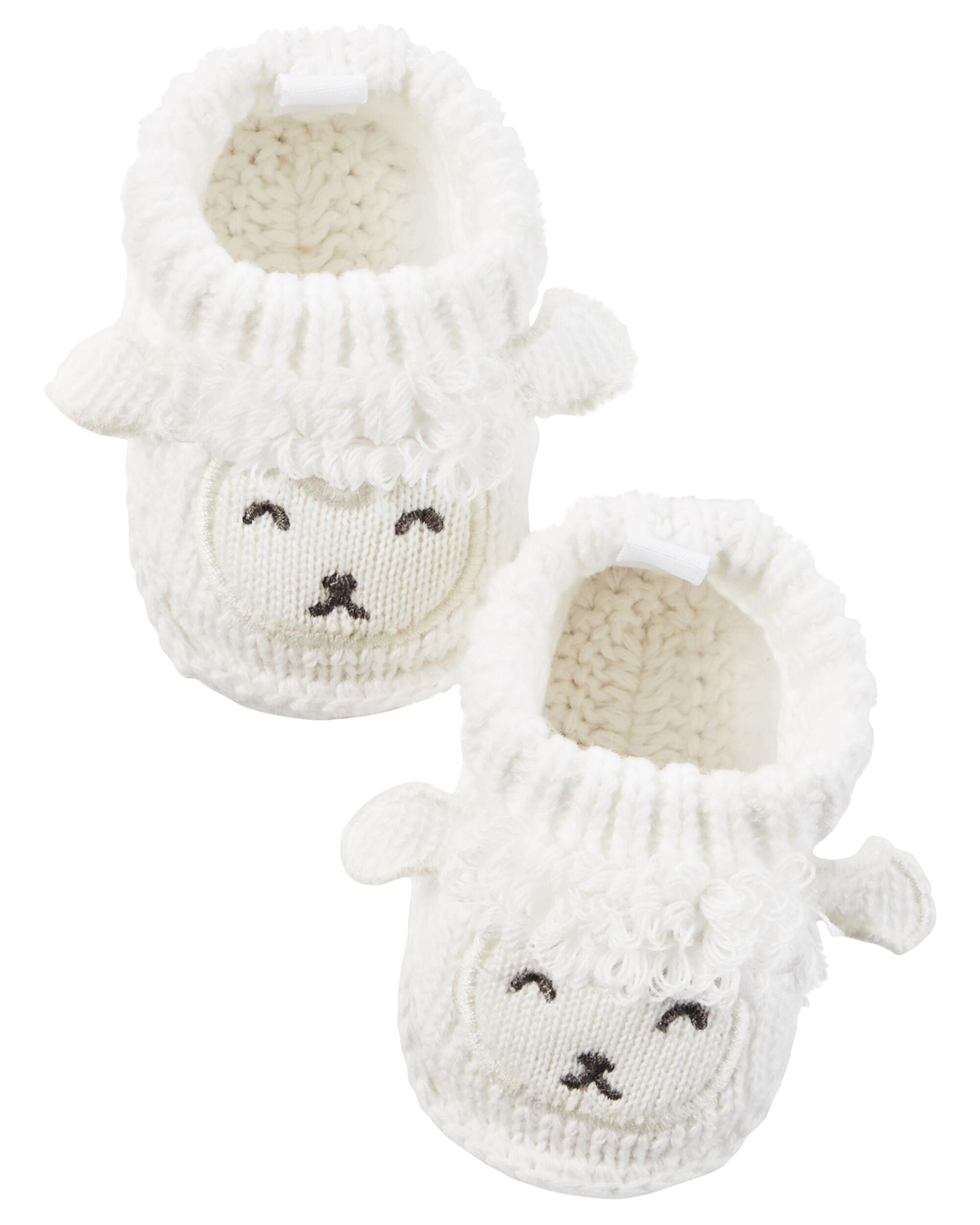 Lamb Crocheted Booties | carters.com