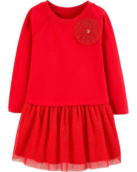 995fda8c2 Bow Holiday Dress | Carters.com