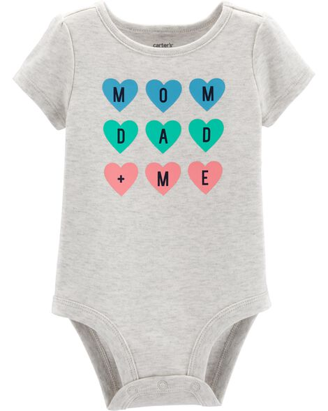 Mom Dad + Me Collectible Bodysuit