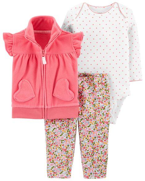 41c3b80e2 3-Piece Little Vest Set