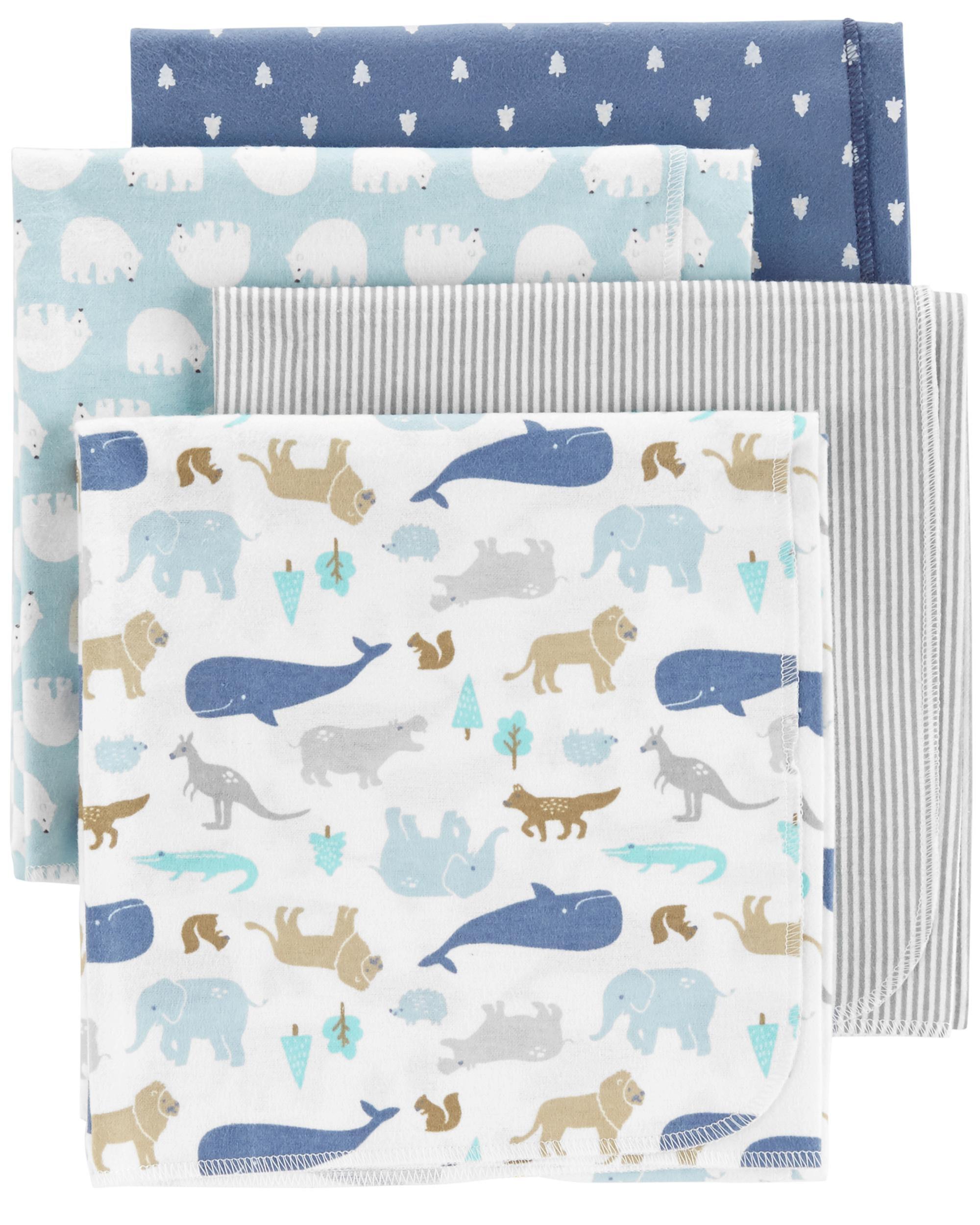 Carters 4-Pack Receiving Blanket D06G280