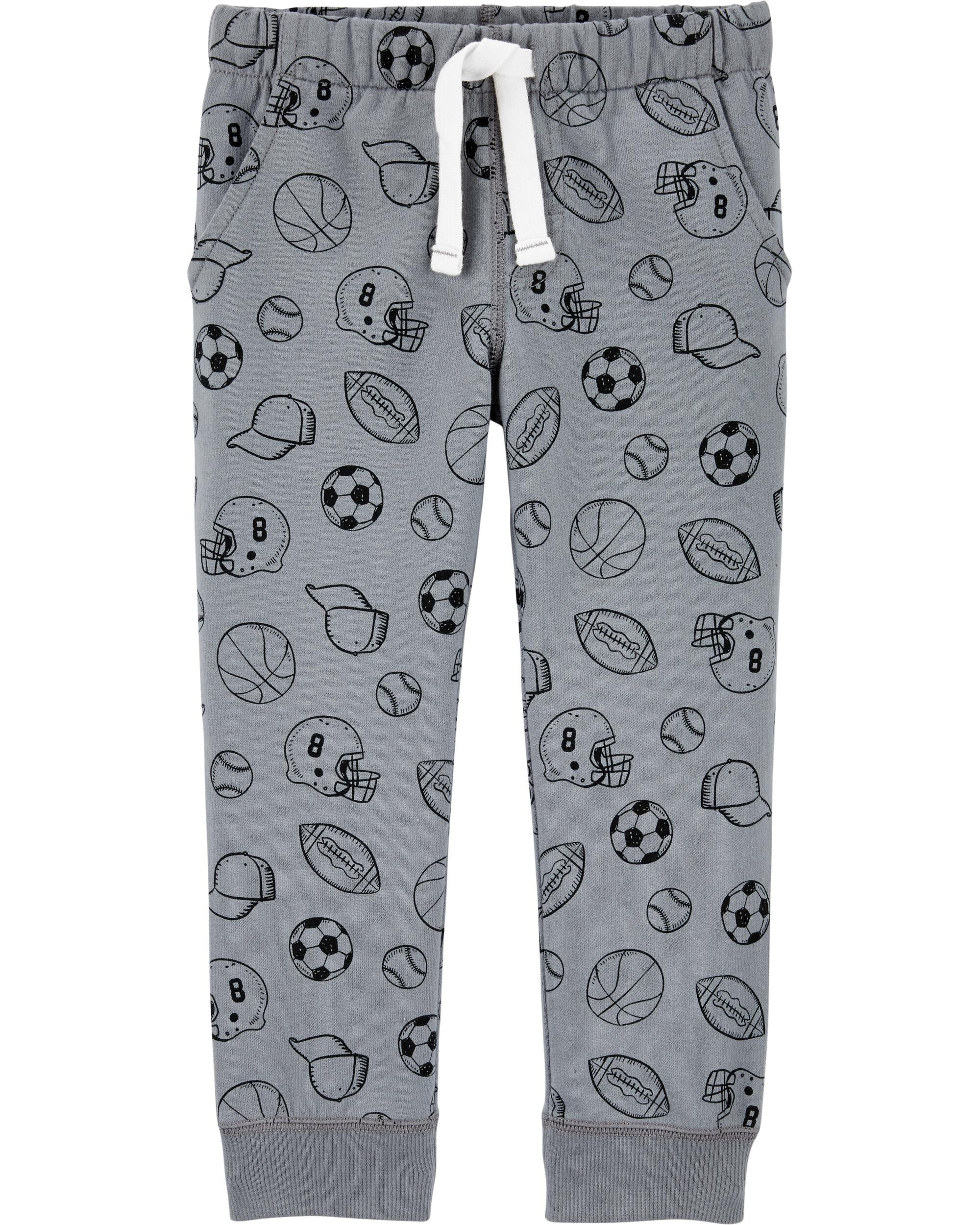 *DOORBUSTER* Sports Pull-On French Terry Joggers