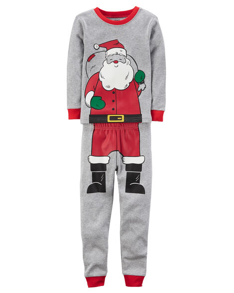 ... 2-Piece Santa Snug Fit Cotton PJs 468f9839e