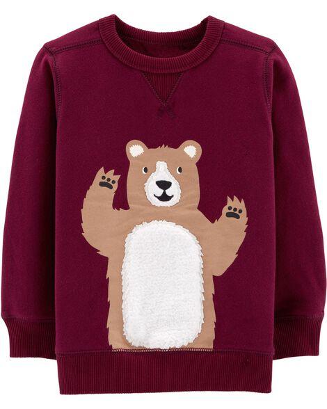 Bear Fleece Sweatshirt