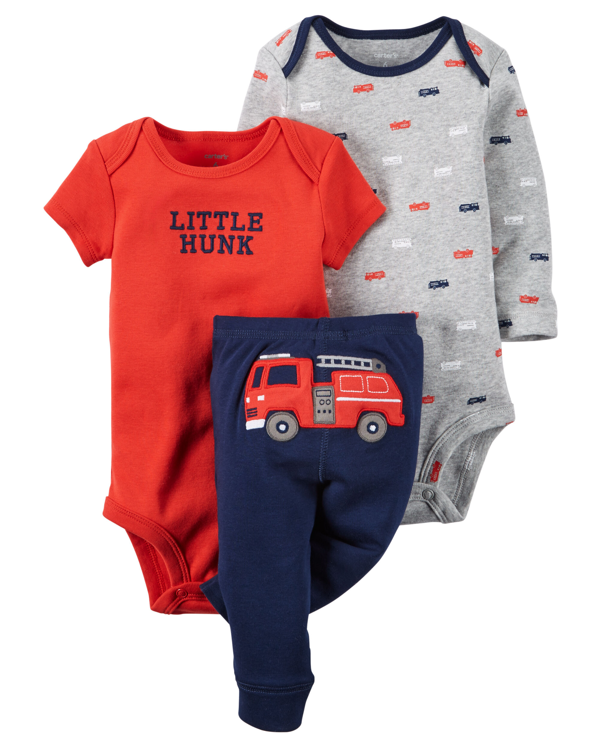 3 Piece Little Character Set Carters Com