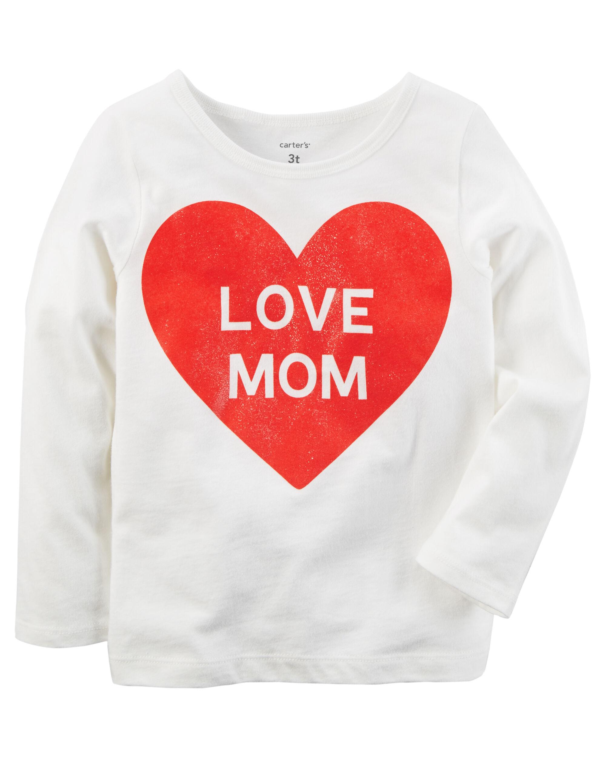 Everyday Essentials Love Mom Tee