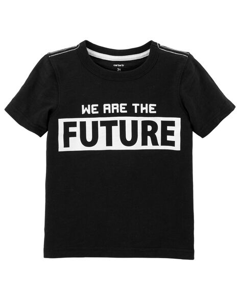 We Are The Future Slub Jersey Tee