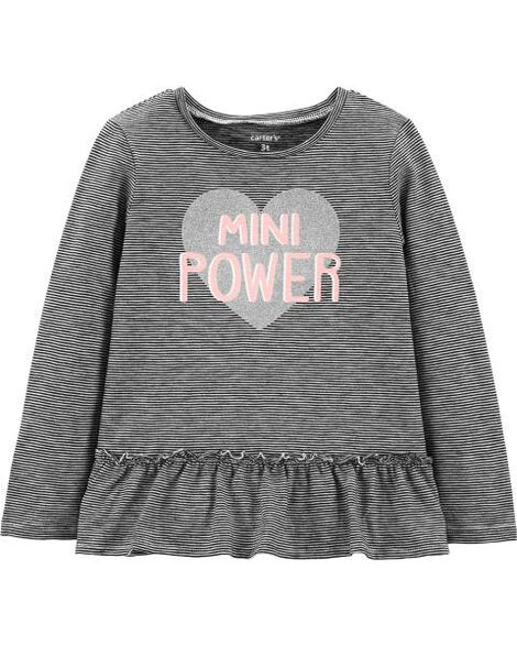 Mini Power Slub Jersey Tee