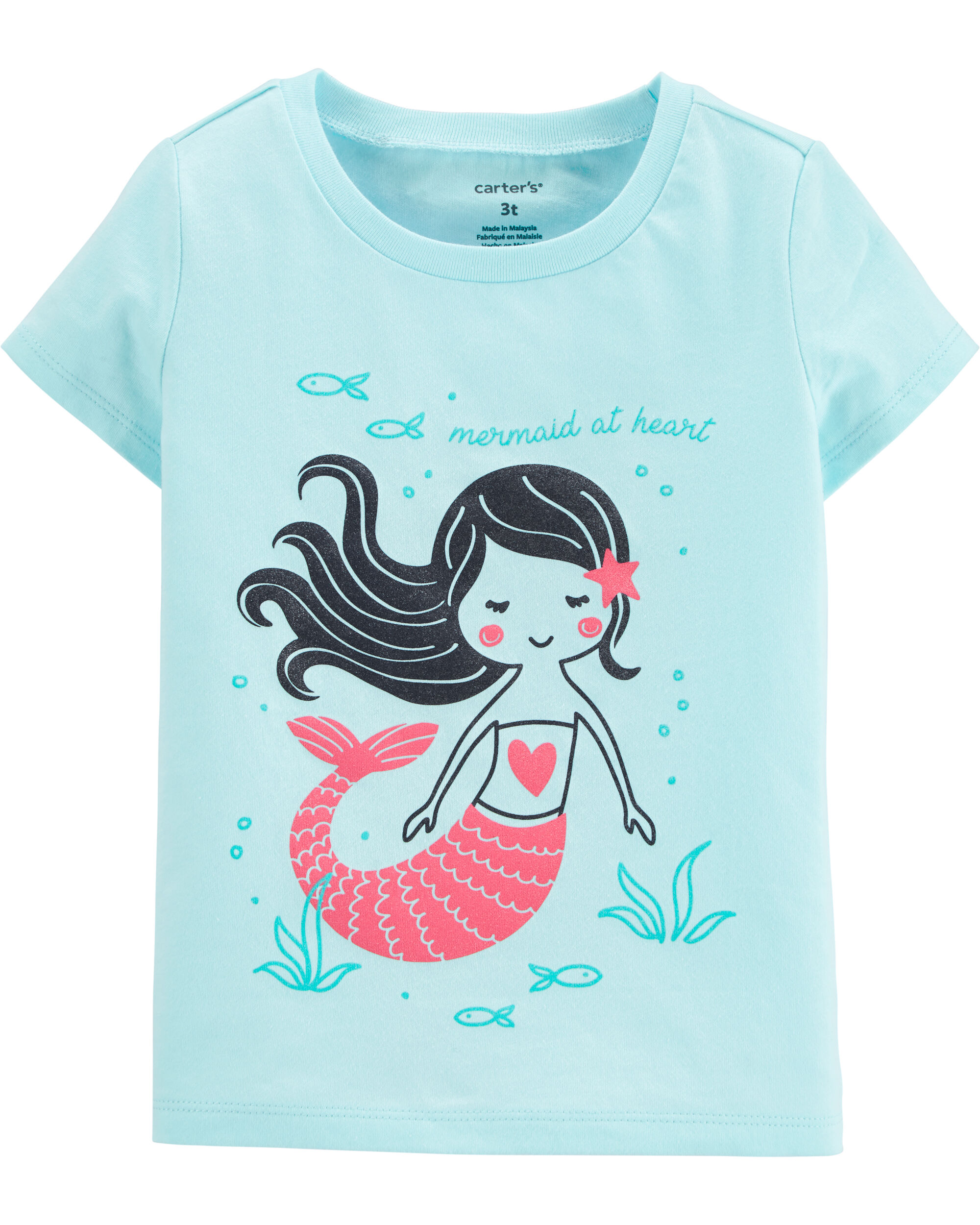 *DOORBUSTER* Mermaid At Heart Jersey Tee