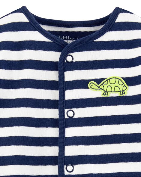 Certified Organic Cotton Snap-Up Sleep & Play