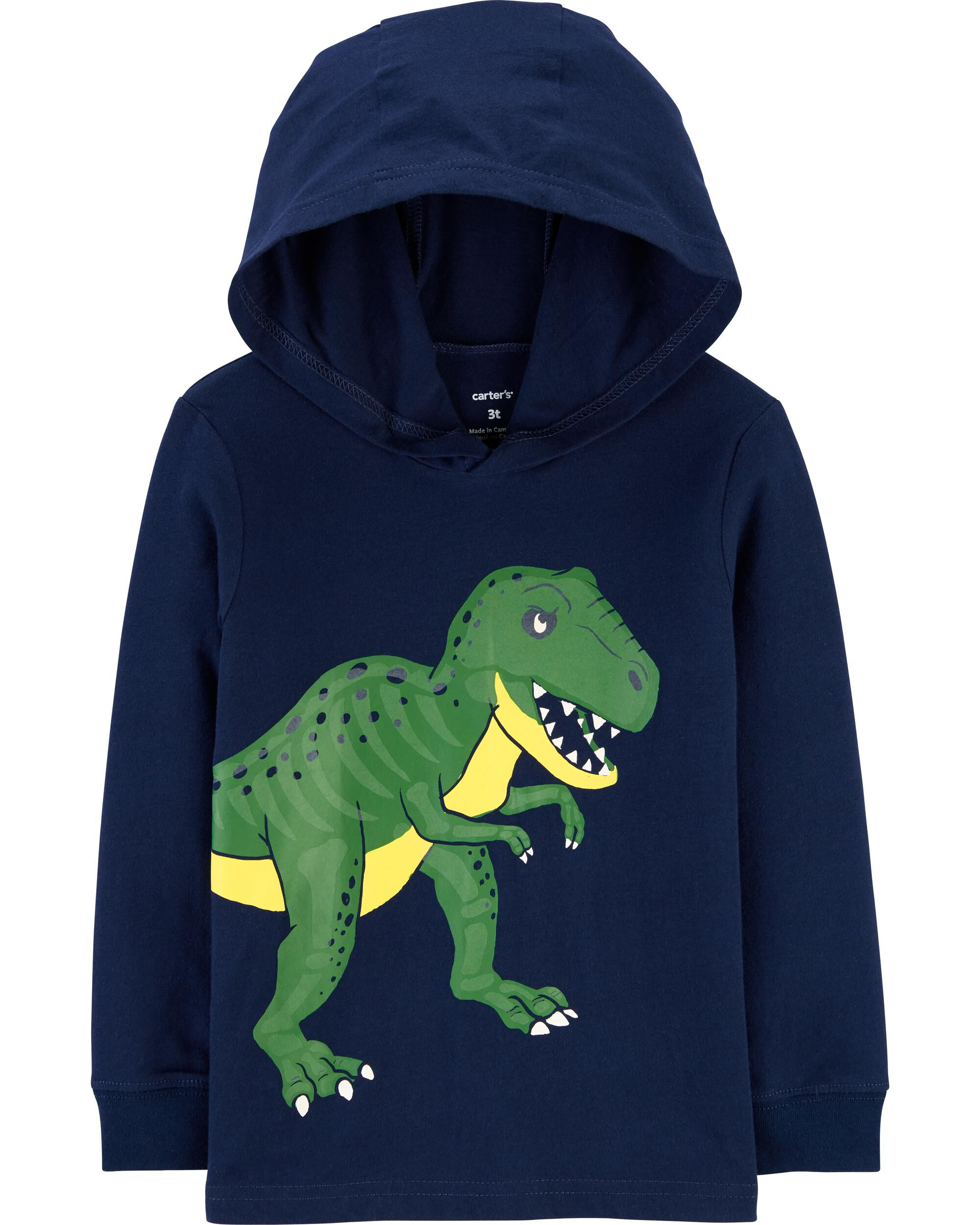 *CLEARANCE* T-Rex Hooded Jersey Tee