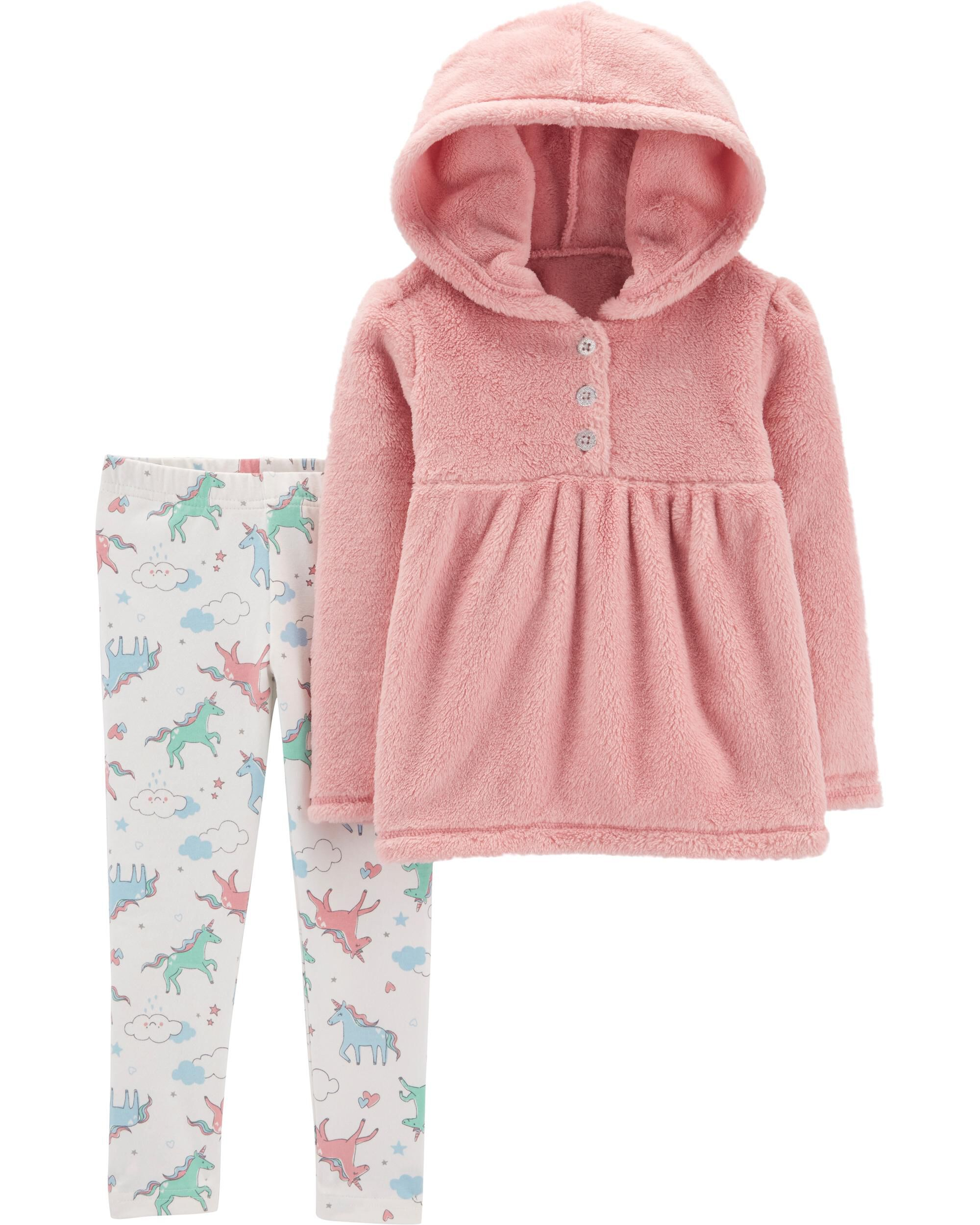 Baby Girls Next Unicorn Hoody And Leggings Set Size 12-18m Girls' Clothing (newborn-5t) Outfits & Sets