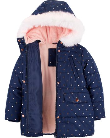 a5852a7aa62 Kid Girl Jackets & Outerwear | Carter's | Free Shipping