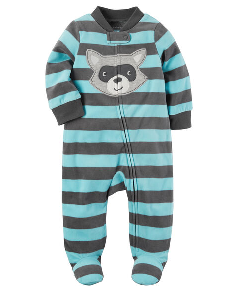 d037bcd46a81 Raccoon Zip-Up Fleece Sleep   Play
