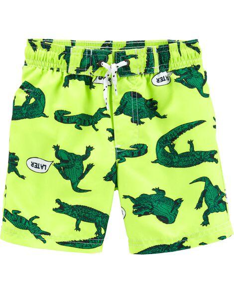 fae29e03c416 Carter s Alligator Swim Trunks