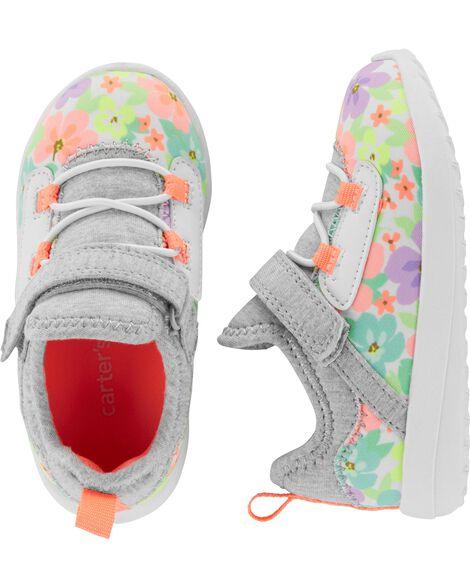 e4d7199046 Carter's Floral Athletic Sneakers | Carters.com
