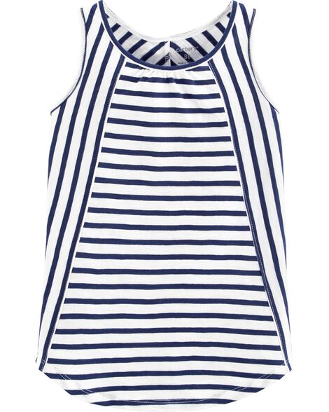 Striped Slub Tank
