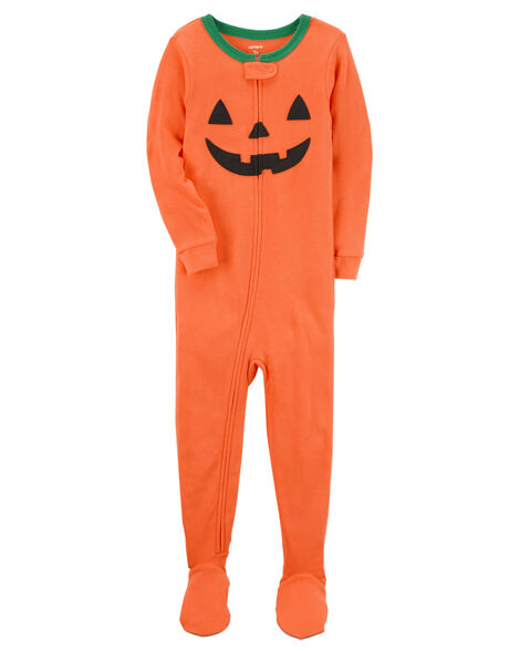 1-Piece Snug Fit Cotton Halloween PJs