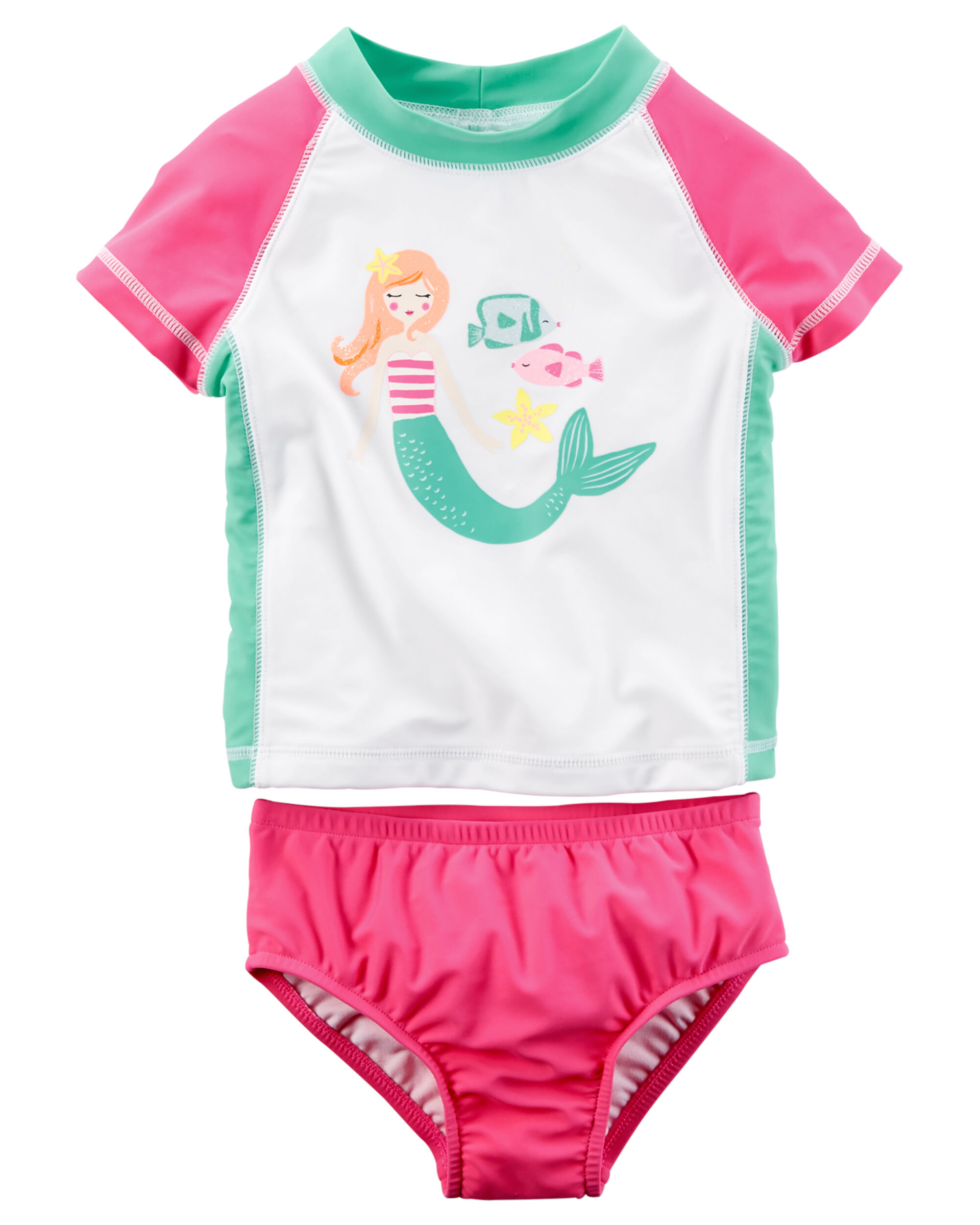 Carter s 2 Piece Mermaid Rashguard Set