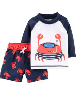 Baby Boy Swimwear Trunks Rashguards Carters Free Shipping