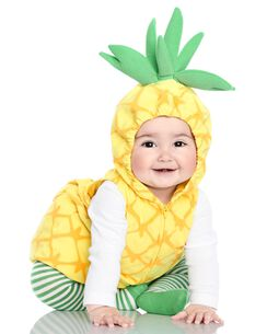 little pineapple halloween costume