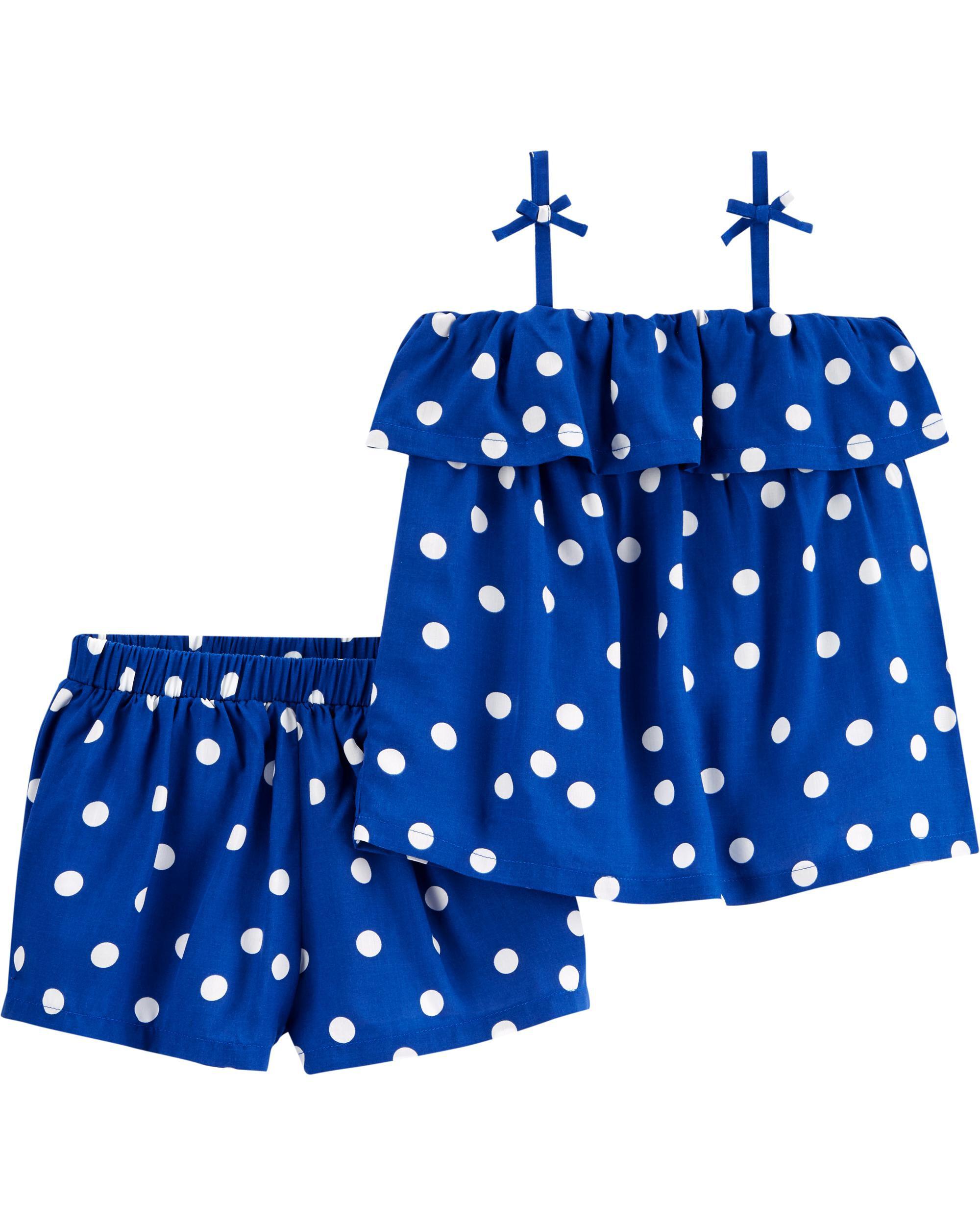 *DOORBUSTER* 2-Piece Polka Dot Outfit Set
