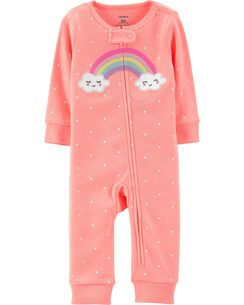 f616584d26e4 Baby Girl Sleep   Play Pajamas