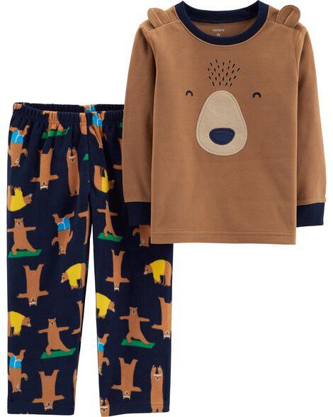 4a7af0a676aa 2-Piece Bear Fleece PJs