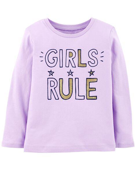 Girls Rule Jersey Tee
