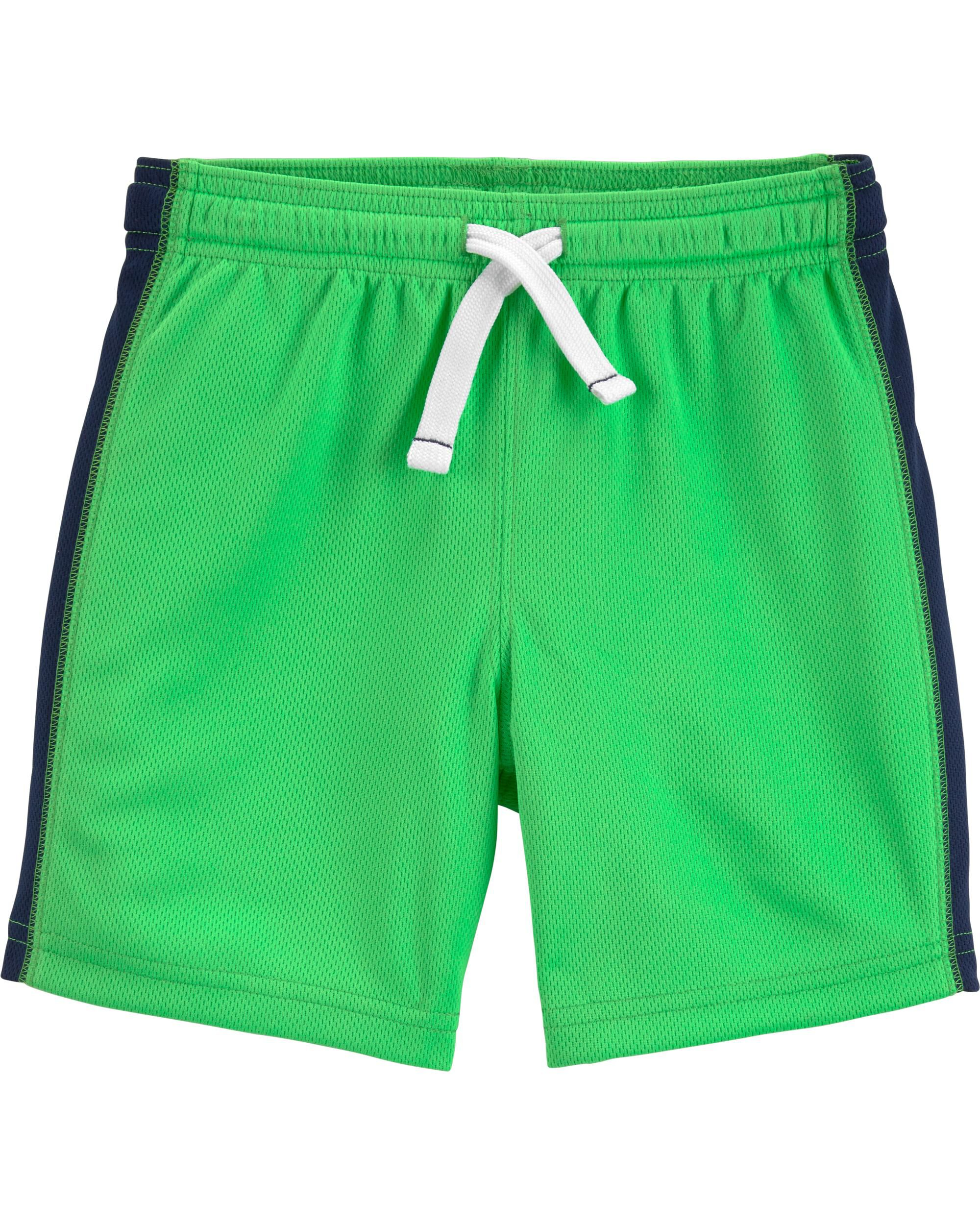 Boys Carters Shorts Lot Of 2 Size 18 Months Black/green Bottoms