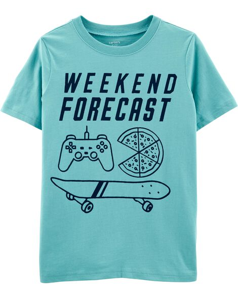 Weekend Forecast Jersey Tee