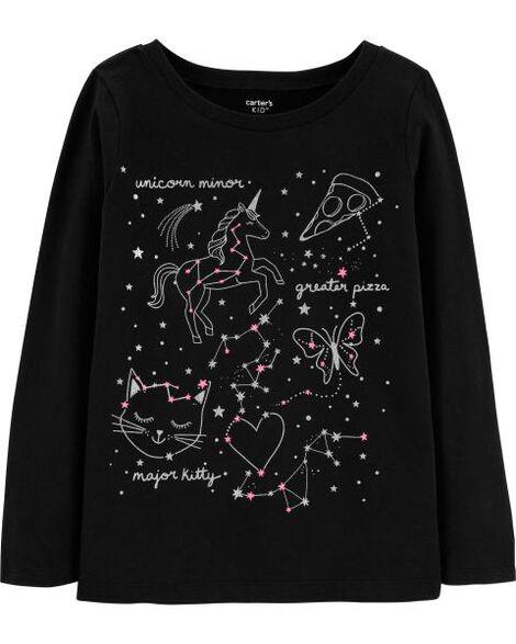 70c75d88b3d6 Unicorn Constellation Tee