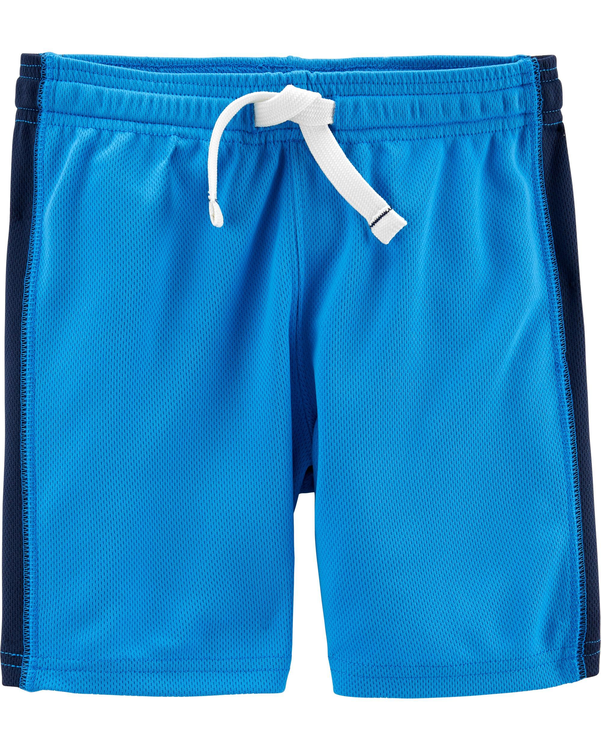 Carters Baby Boy Rash Guard Swimsuit Trunks Set Nautical Blue Size 3 6 9 Months